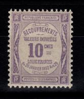 Taxe YV 44 N** Cote 3 Euros - 1859-1955 Mint/hinged