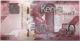 Kenya - 50 Shillings - 2019 - PICK 52a - NEUF - Kenia