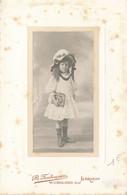 CABINET - Portrait D'une Fillette Au Chapeau Avec Prix Scolaire Par CROLARD à LORIENT (BP) - Old (before 1900)