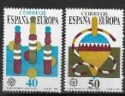 Espagne 1989 N° 2620/2621 Neufs Europa Jeux D'enfants - 1989