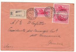 AIDUSSINA RACCOMANDATE  GORIZIA  1930   FRIULI VENEZIA GIULIA - Venezia Giulia