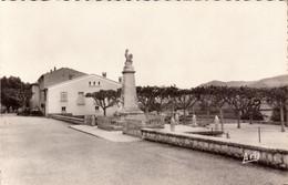 Alpes De Haute Provence, Peyruis, Le Monument Et La Place   (bon Etat) - Other Municipalities