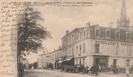 SAINT-LOUBES  -  La Grand'Rue , L'Hôtel Et Café National - Other Municipalities