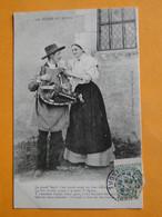 BOURGES - CHATEAUROUX -- Scènes Du Berry - La Grand'Berth' Et Son Vielleux - Música