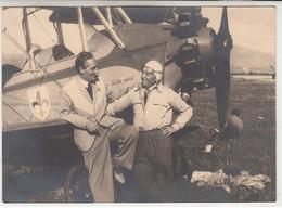AEREO PLANE AIRCRAFT NON IDENTIFICATO RADUNO PERUGIA 1948 -  FOTOCARTOLINA ORIGINALE - Aviación