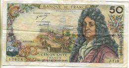 Billet , France 50 Francs Racine 1968 - 50 F 1962-1976 ''Racine''