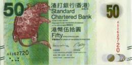 Hong Kong (SCB) 50 HK$ (P298) 2013 -UNC - - Hong Kong
