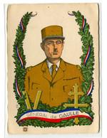 Thème Général De Gaulle - Carte Postale Portrait  - R 6228 - Personajes Históricos
