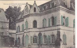 ENV. CHALON SUR SAONE : TRES RARE CPA DE 1906 EN PARTIE COLORISEE DU CHATEAU DE BEY.T.B.ETAT - Chalon Sur Saone