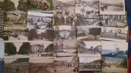 Lot De 100 Cpa Nombreuses Animations - Villes-villages-vues (6) - 100 - 499 Postales