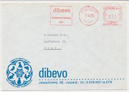 Firma Envelop Steenwijk 1976 - Dibevo - Hond - Kat - Haan Etc. - Sin Clasificación