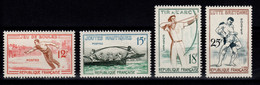 YV 1161 à 1164 N** Jeux Traditionnels Cote 9,50 Euros - Unused Stamps