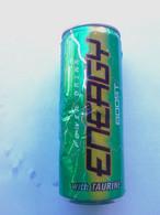 Lattina Italia %- Energy Drink With Taurine - 33 Cl. Con Segni Di Piegature  ( Lattine-Cannettes-Cans-Do Sen-Latas ) - Cans