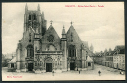 BERGUES - EGLISE SAINT MARTIN - FACADE - Bergues