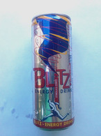 Lattina Italia - Energy Drink Blitz - 33 Cl. -  ( Lattine-Cannettes-Cans-Dosen-Latas ) - Cans