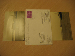 JETFERRY ONE London Speed Ferry English Channel Manche Ship Cover PAQUEBOT 1980 Cancel ENGLAND +2 Photo - Schiffe