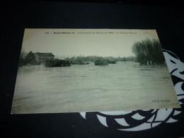 Cartes Postale  Haute Marne Saint Dizier Inondation Du 20 Janvier 1910 Le Chateau Renard - Saint Dizier