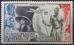 R2452/1058 - 1949 - COLONIES FR. - INDOCHINE - POSTE AERIENNE - U.P.U. - N°48 NEUF* LUXE - Airmail