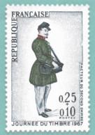 1 Carte  Neuf **  Journée Du Timbre 1967  -   Prétimbré  Monde  Valeur  Faciale Au 01/01/2021 =1,50 €  + Scan Recto - - Letter Cards