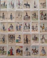 Lot - 45 CPA - Les Uniformes Du 1er Empire (collection Début XXe) - Artistes Divers - Uniforms