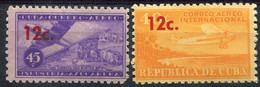 Cuba            PA           200/201 ** - Airmail