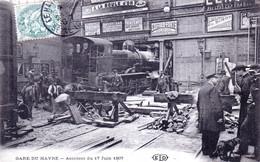 76 - LE HAVRE - La Gare - Accident Du 17 Juin 1907 - Otros