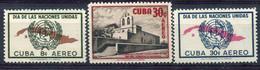 Cuba                  Divers Poste Aérienne ** - Airmail