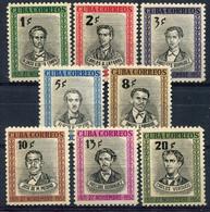 Cuba           373/380 * - Unused Stamps