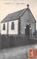 RELIGION Christiansme PROTESTANTISME - 37 - LE SENTIER : Temple Protestant / Protestantischer /  Protestantse Tempel CPA - Andere