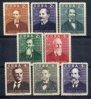 Cuba           503/510 * - Unused Stamps