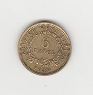 AFRIQUE OCCIDENTALE BRITANNIQUE - 6 PENCE GEORGE VI 1940 - Other - Africa