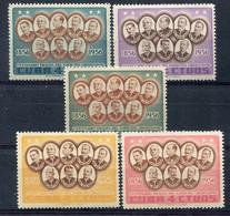 Cuba         461/465 ** - Unused Stamps