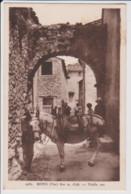 83 – MONS  (Var)  - 800m D'altitude – ATTELAGE MULET -  VIEILLE RUE – CP Sépia – Ecrite Au Verso (1940) - Other Municipalities