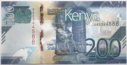 Kenya - 200 Shillings - 2019 - PICK 54a - NEUF - Kenia