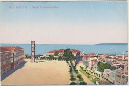 LIBAN - BEYROUTH - HAUT COMMISSARIAT - Carte Colorisée - Liban