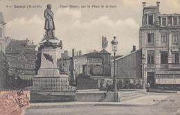 NANCY: Place Thiers, Sur La Place De La Gare - Nancy