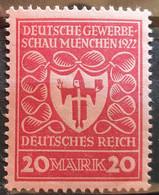 Deutsches Reich 1922, Mi 204 Höchstwert MNH Postfrisch - Ongebruikt