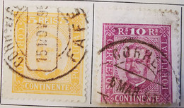 Portugal 1892 _ Y&T N°66 Et N°67 - Oblitérés - - Used Stamps