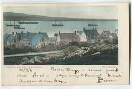 """FALKLAND ISLAND """"Port Stanley"""" A. KWASNY Punta Arena-Magallanes ISLAS MALVINAS - Falkland Islands"""