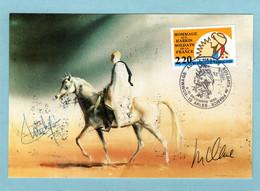Carte Maximum 1989 - Hommage Aux Harkis Soldats De La France - YT 2613 - 13 Arles - 1980-89