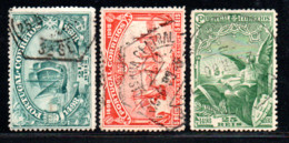 N° 146,7,9 - 1898 - Used Stamps
