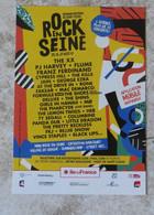 CPM Musique Festival Rock En Seine 2017 - Métro Boulogne Pont De Saint Cloud - Music And Musicians