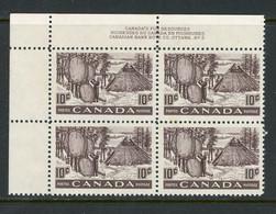 Canada MNH 1950 Fur Resources - Nuevos