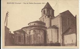 BEAULIEU ( Corrèze ) , Vue De L' Eglise Paroissiale ( XII S. ) - Other Municipalities