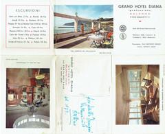 Carte Postale/Dépliant. Salerno. Grand Hôtel DIANA. + Tarif. - Salerno