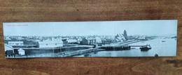 FALKLAND ISLAND PORT STANLEY Panorama Card Triptyque MALVINA Series C.1905 Rare - Falkland Islands