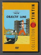 DVD Tintin  Objectif Lune - Animation
