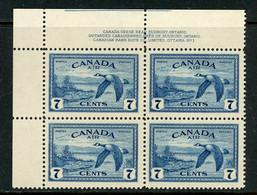 Canada MNH 1946 Canada Geese Near Sudbury Ontario - Nuevos