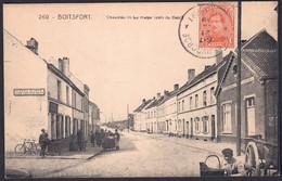 +++ CPA - BOITSFORT - Chaussée De La Hulpe - Coin Du Balai - Café - Carte Animée  // - Watermael-Boitsfort - Watermaal-Bosvoorde