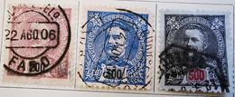 Portugal 1895-1898 _ Y&T N°143-144-145-146 Et N°149  - Oblitérés - - Used Stamps